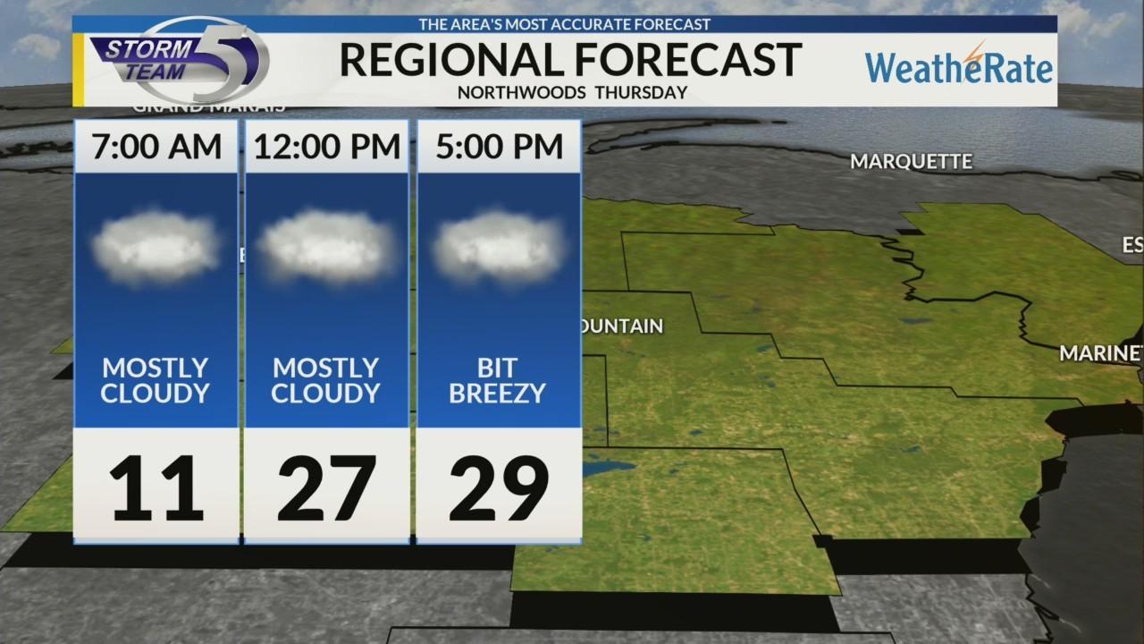 Regional Forecast Northwoods 2-22