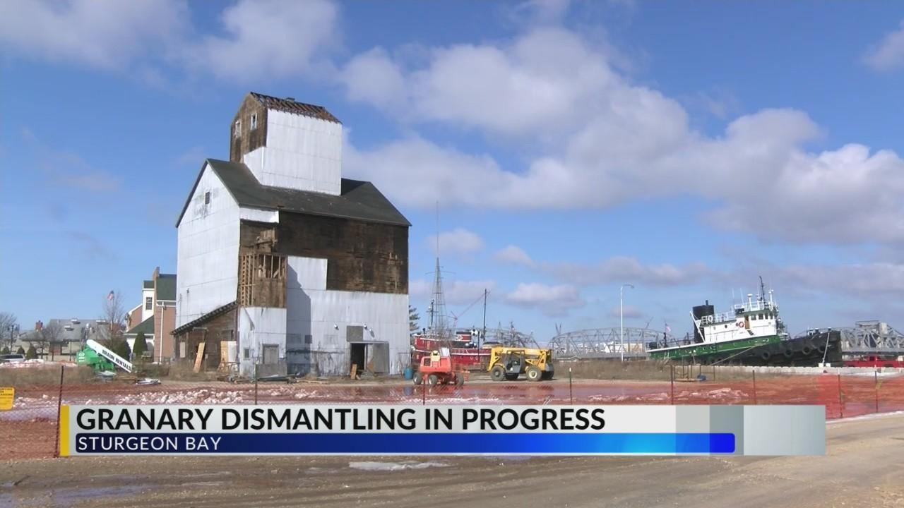 Sturgeon Bay Granary To Be Dismantled