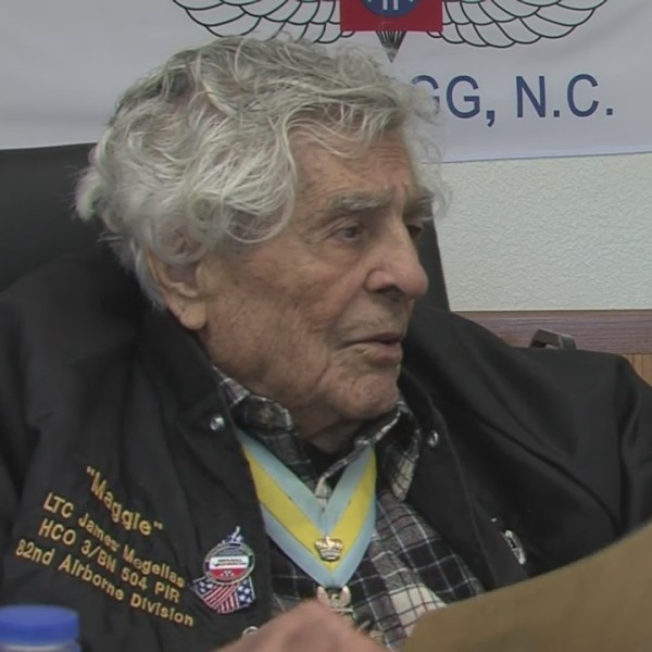 A World War II combat hero is honored on his 101st birthday.