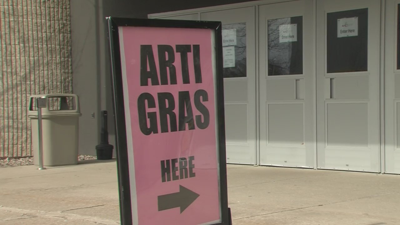Anyone who enjoys art will want to check out Shopko Hall Saturday and Sunday for Arti Gras.