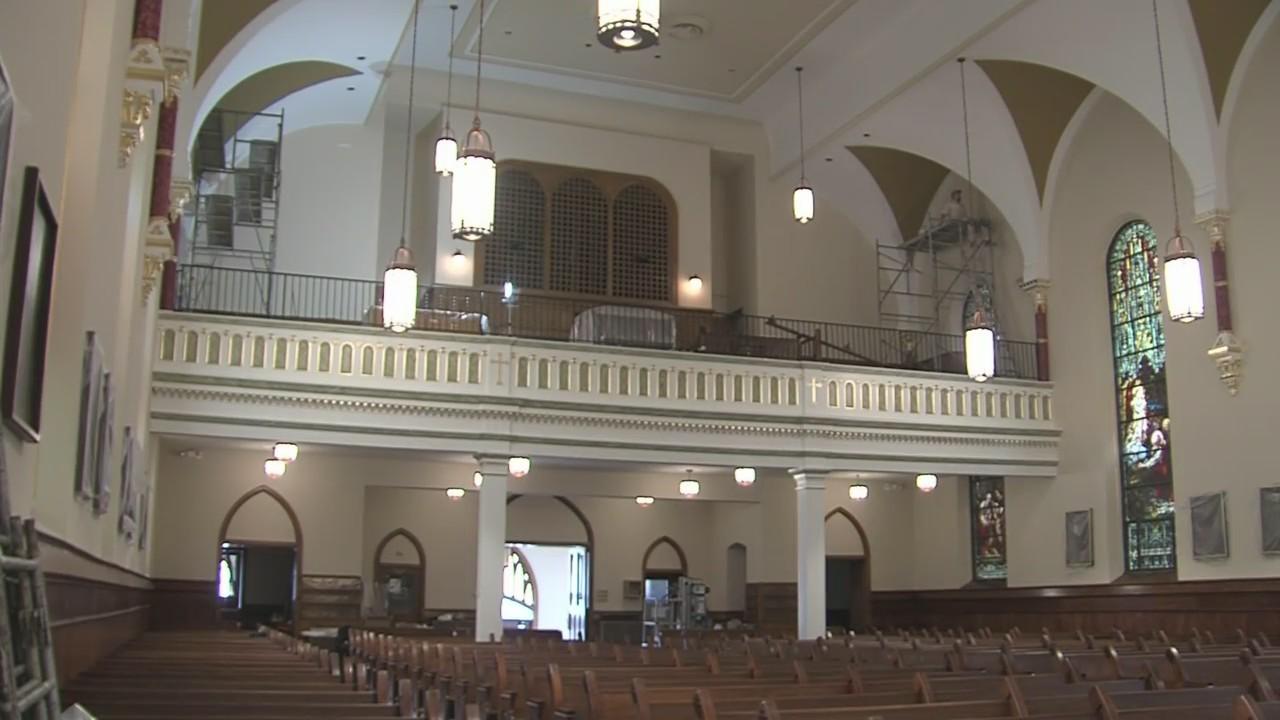 Appleton's oldest Catholic church finishes up on renovations