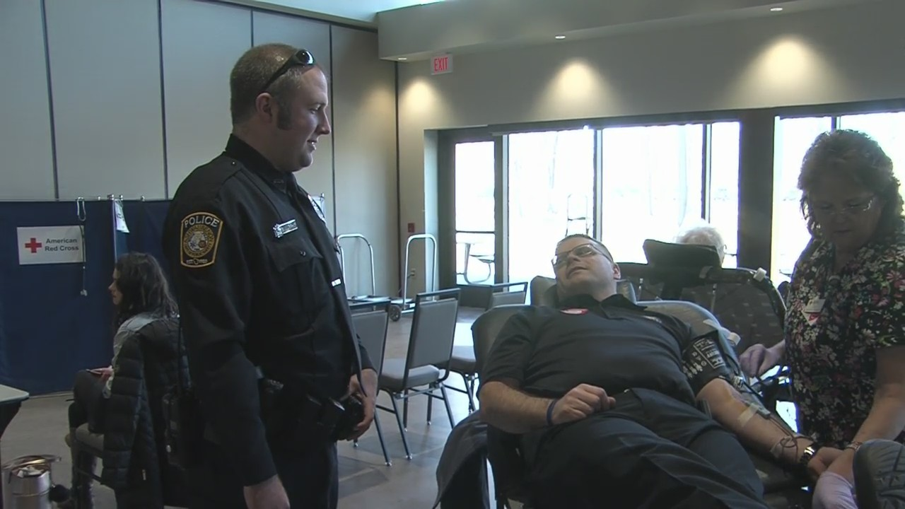 Blood Drive in Honor of Officer