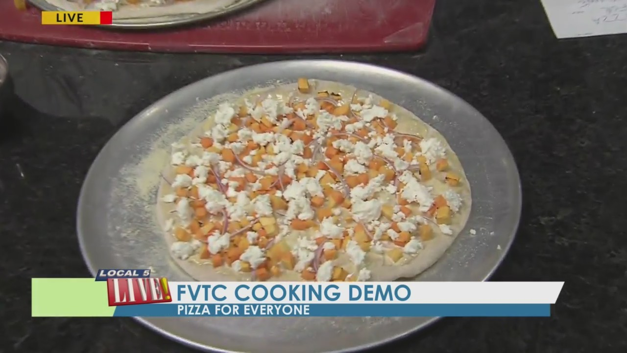 Fox Valley Tech Community Cooking Demo: Pizza for Everyone