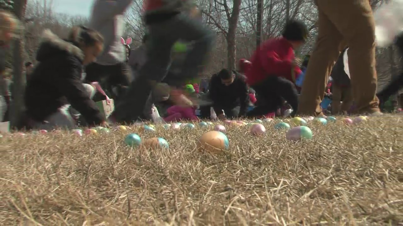 Green Bay First Church hosted the city's largest Easter egg hunt