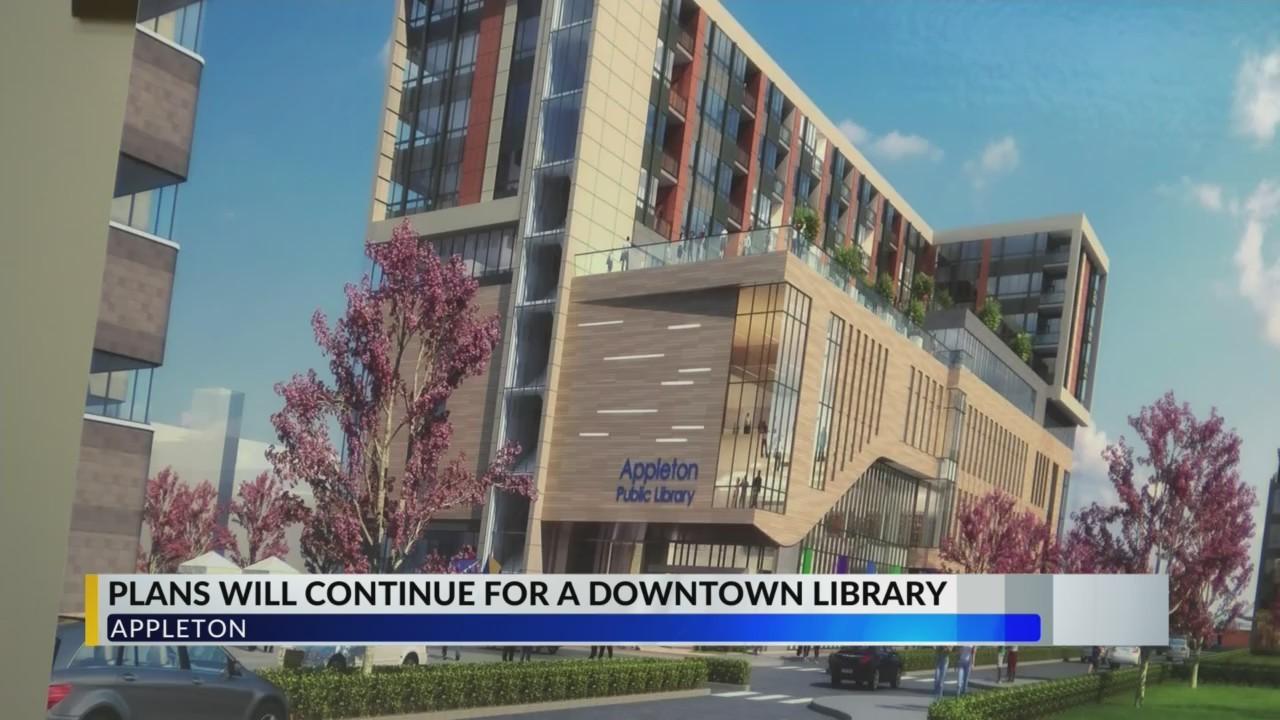 Appleton Library moving forward