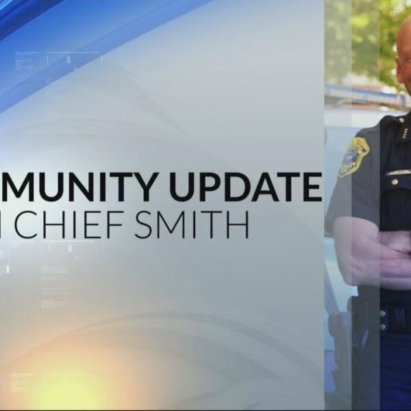 Chief Smith's Community Update 4/19/18