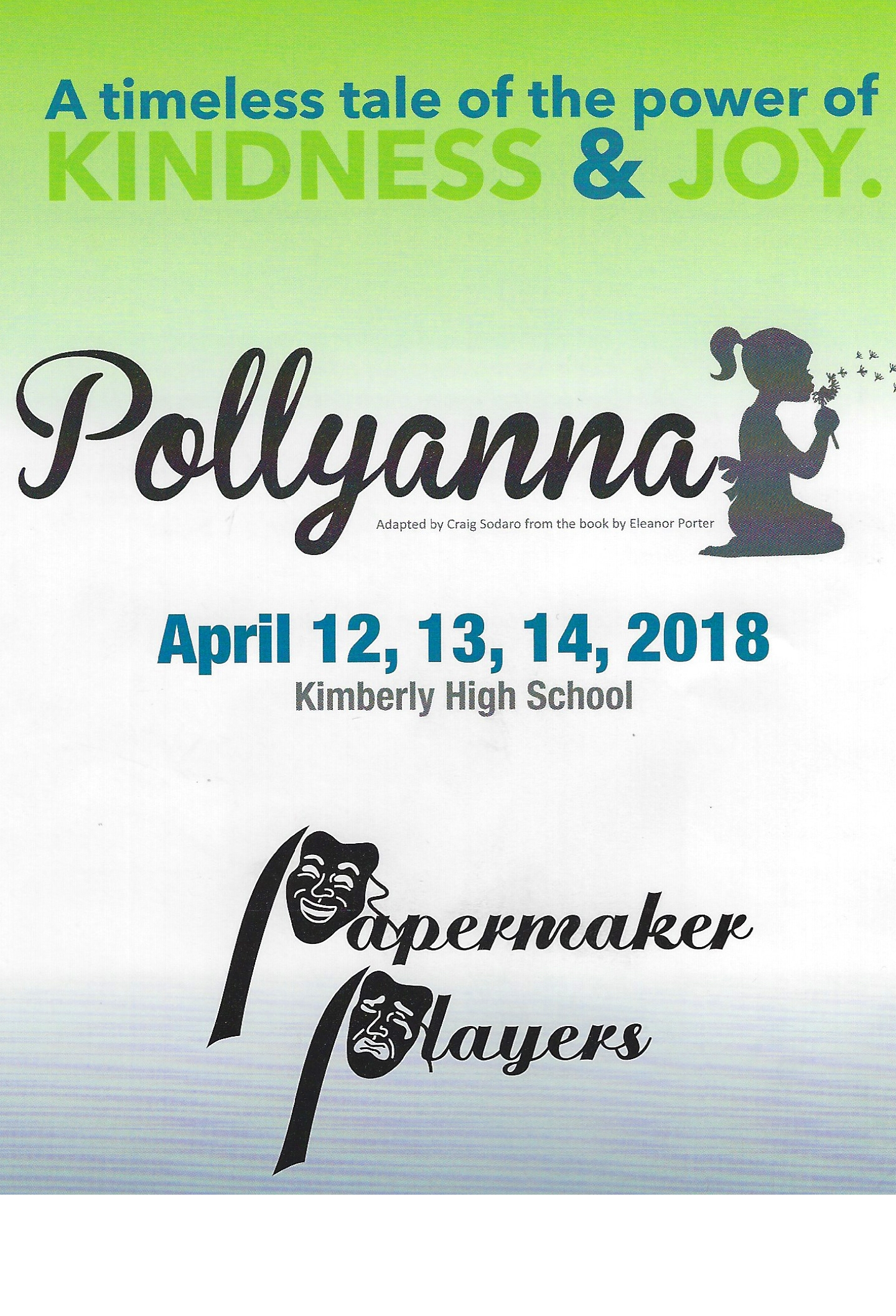 Papermaker Players Family Theatre Pollyanna cover_1523621019735.jpg.jpg