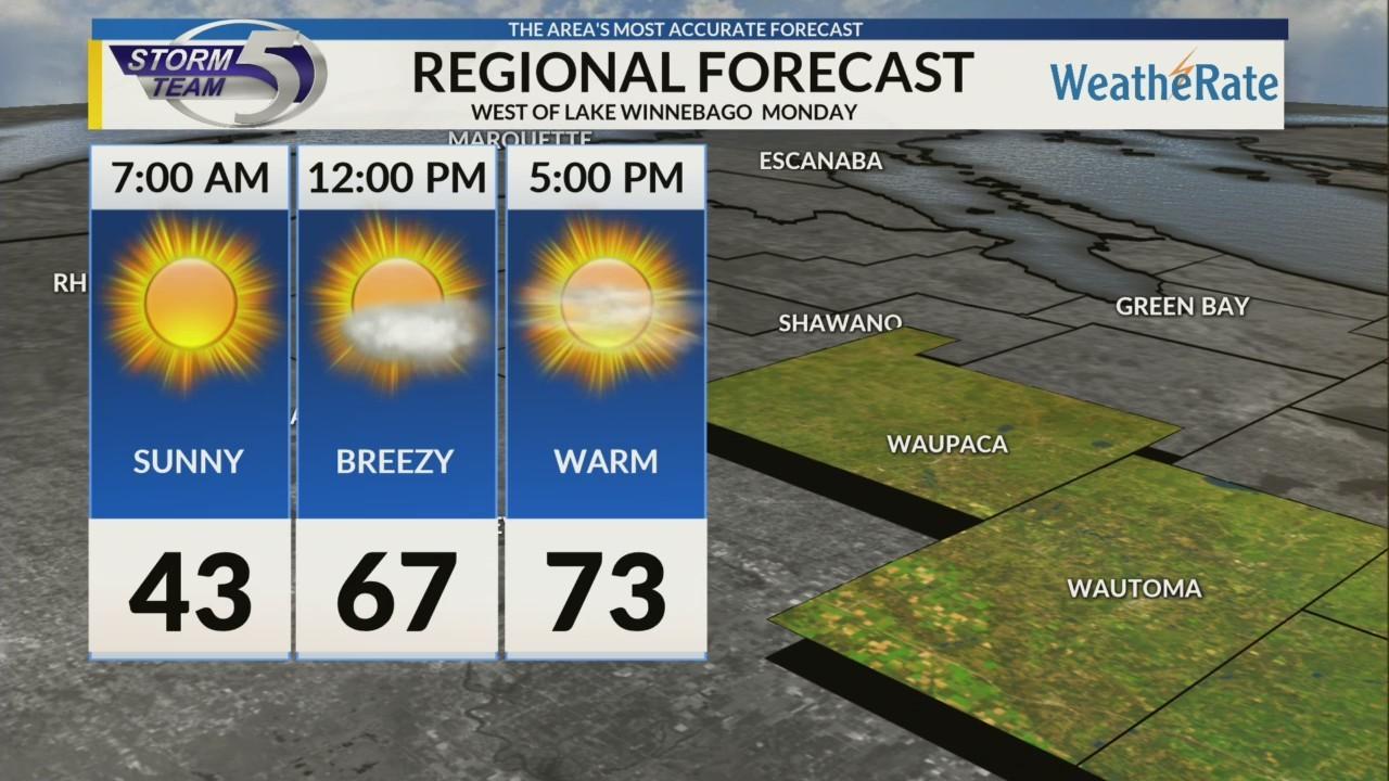 Regional Forecast Central WI 4-30