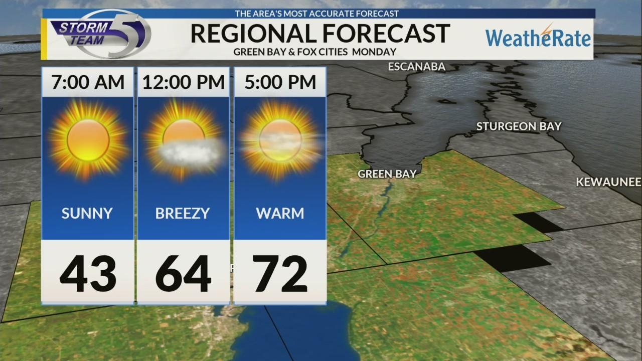 Regional Forecast Green Bay / Valley 4-30