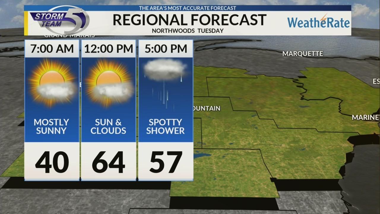 Regional Forecast Northwoods 4-24