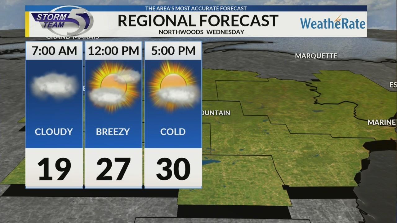 Regional Forecast Northwoods 4-4