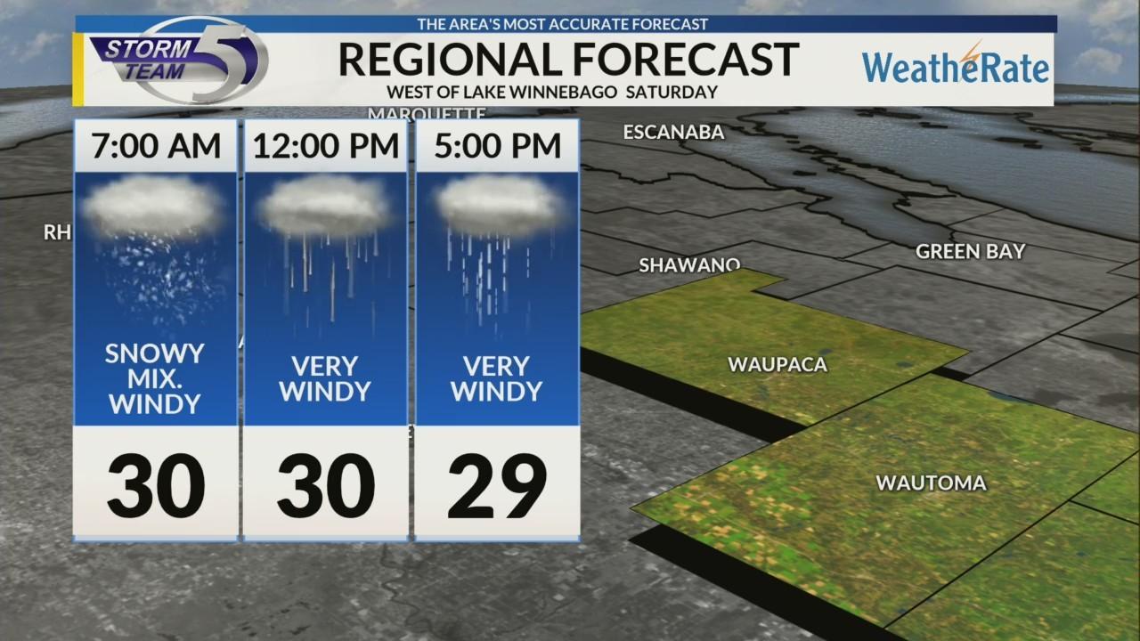 Regional Forecast: Central WI 4/14/2018