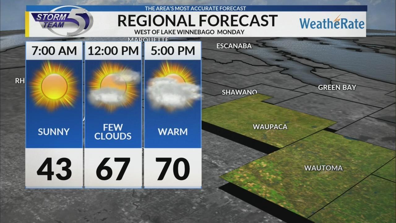 Regional Forecast: Central WI 4/30