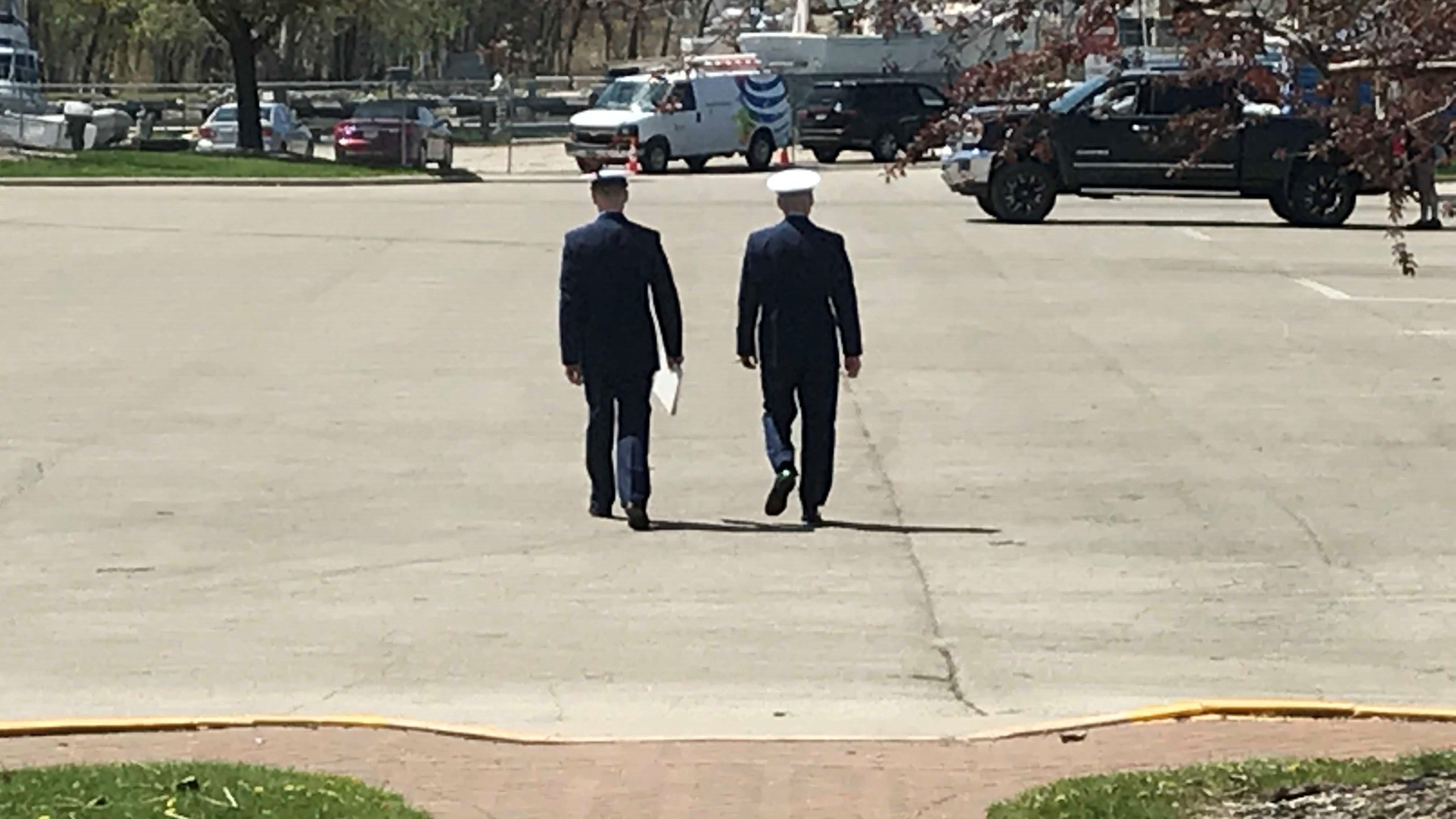Change of Command at U.S. Coast Guard Station Green Bay