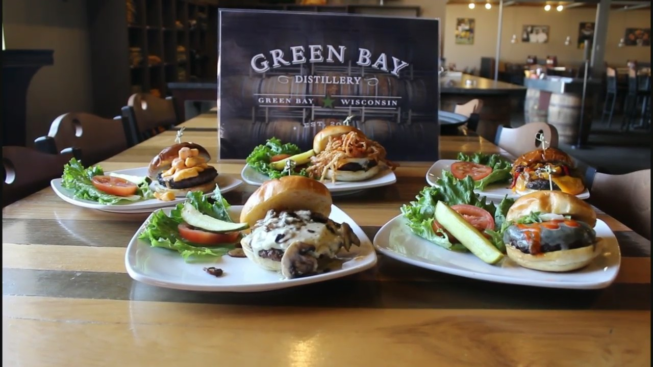 Craft Burgers at the Green Bay Distillery