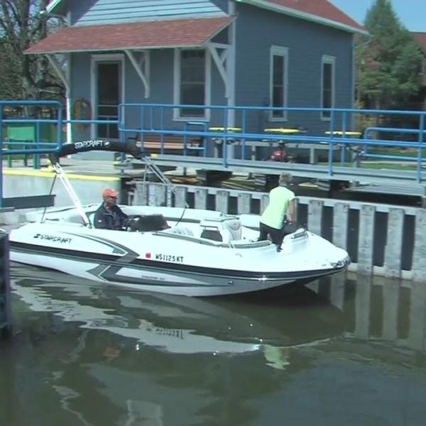 Fox River Locks Opening Day