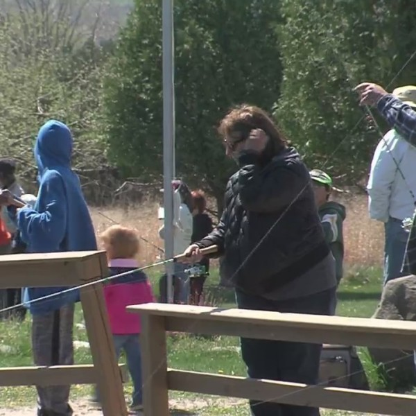 Kids participate in annual Fish For Kids event