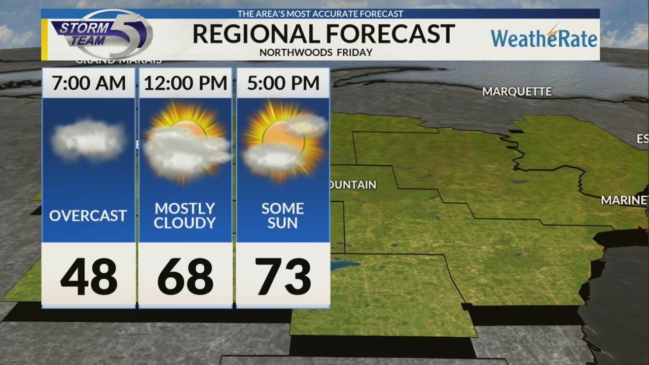 Regional Forecast:Northwoods 5/4/2018