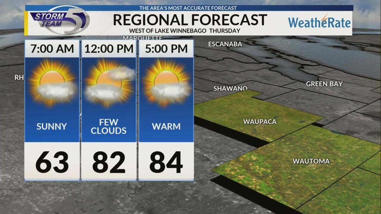Regional Forecast: Central WI 5/23