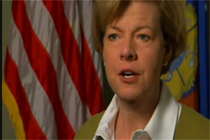 Senator Tammy Baldwin talks to Local Five's Kris Schuller_-3656752514208150811