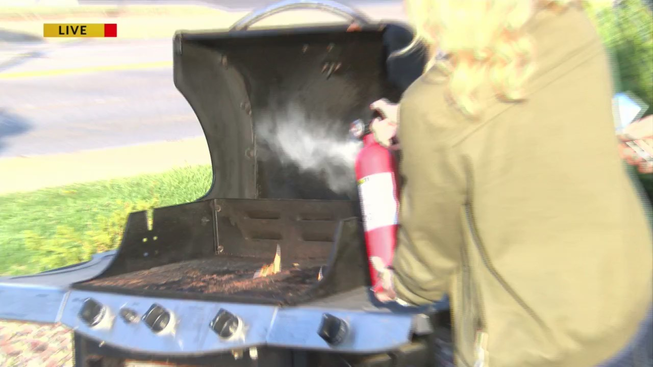 Summer Grilling Tips from the De Pere Fire Department