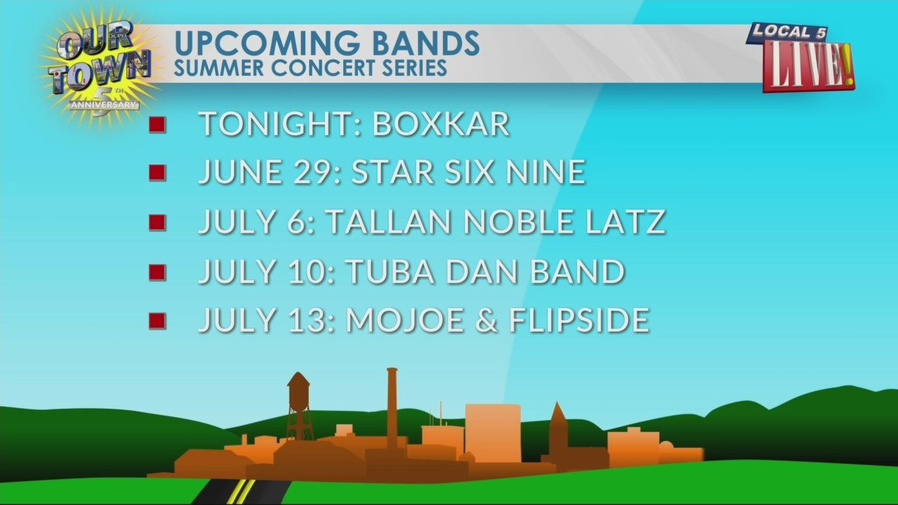 Our Town Ripon 2018: Summer Concert Series