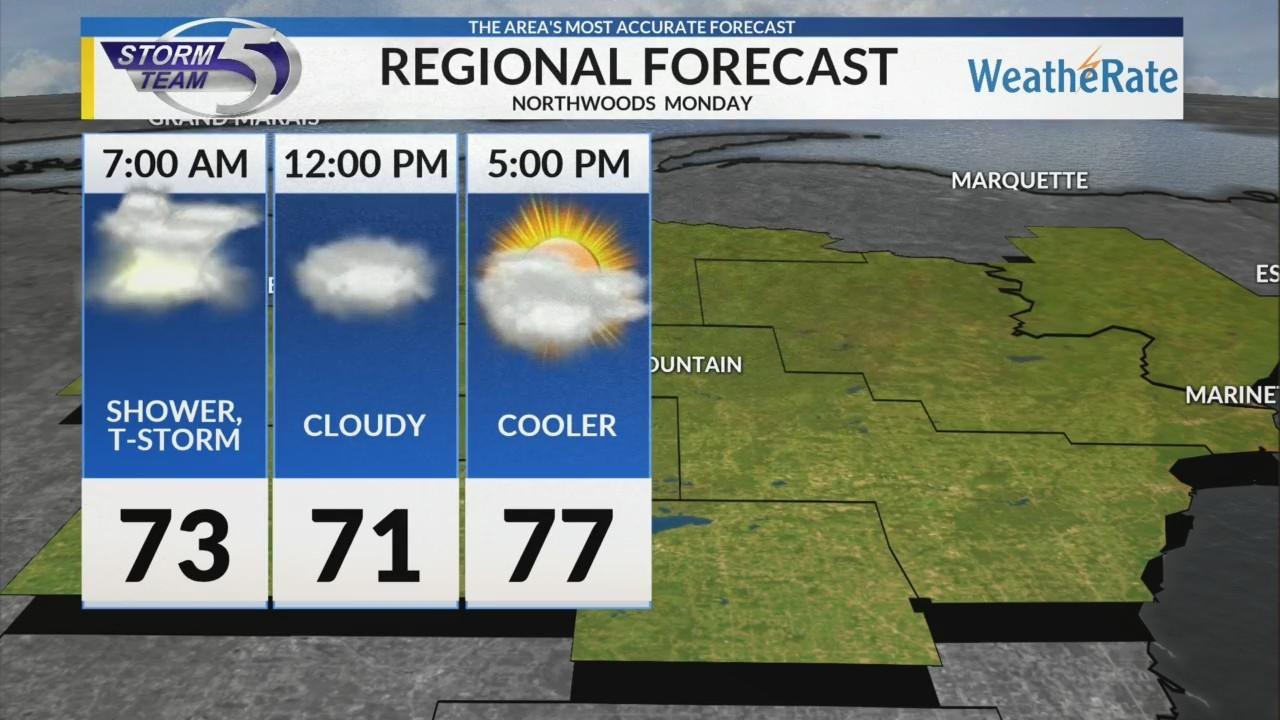 Regional Forecast: Northwoods 6/18