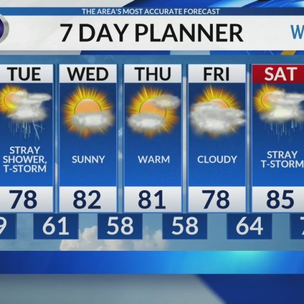Sunday Late Day Video Forecast 6/10