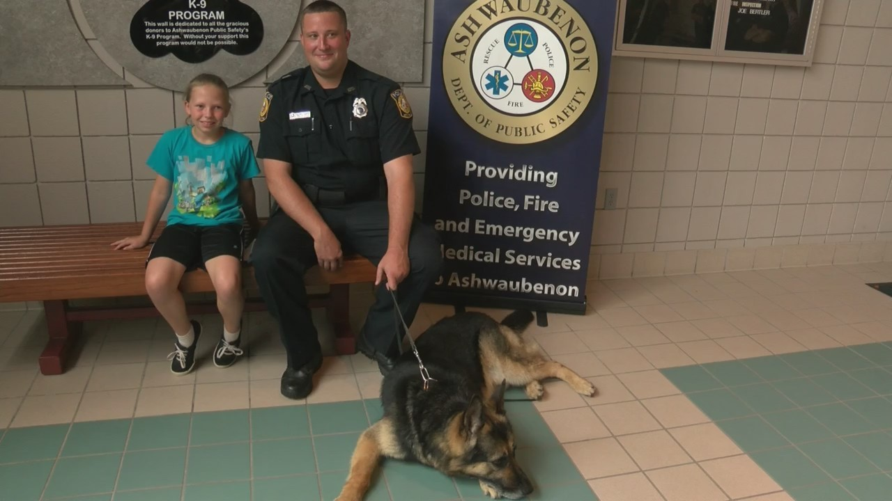 Donating a Birthday to a K-9 Unit