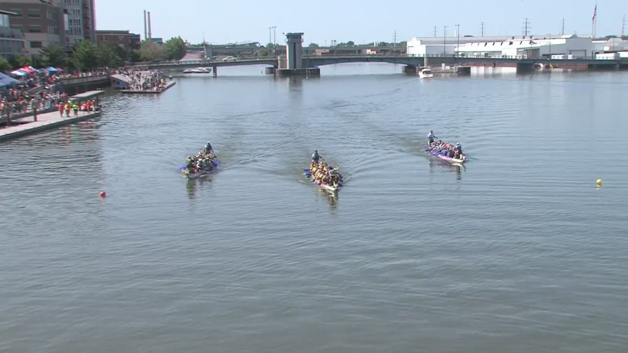 First Ever Dragon Boat Races