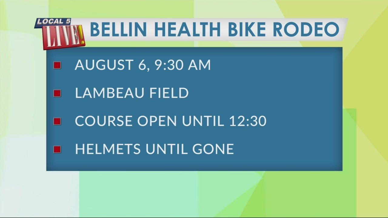 Your Health with Bellin: Bellin Health Bike Rodeo
