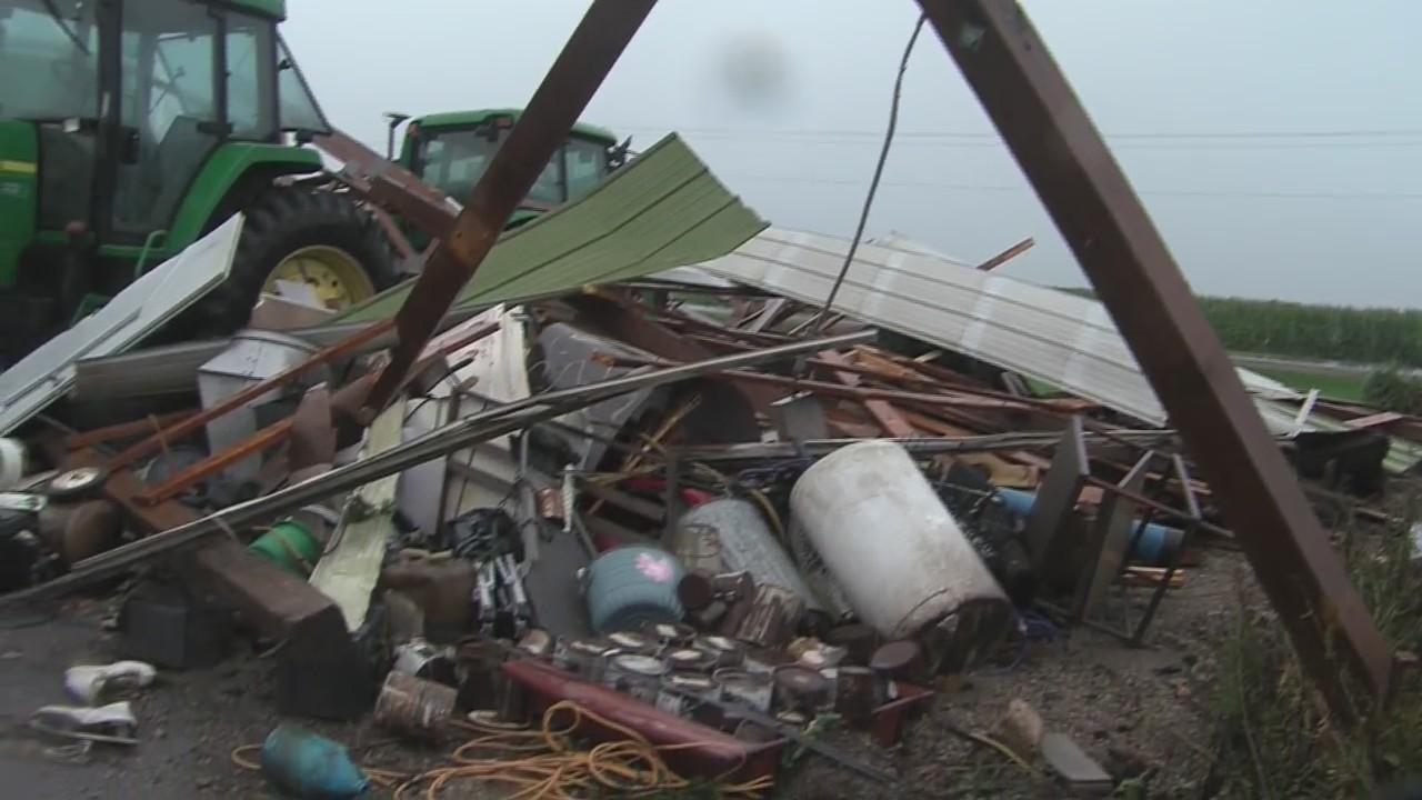 Alto Tornado Damage