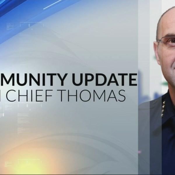 Chief Thomas Community Update 8-2-18