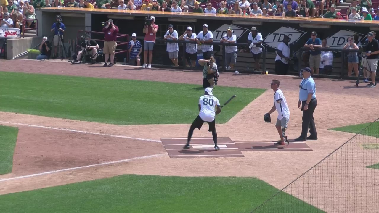 Donald Driver Raises Money for Needy, Hits Game-Winning Homer at Charity Softball Game