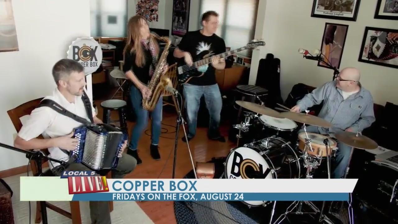 Fridays on the Fox: Copper Box & Cheesy Scarves