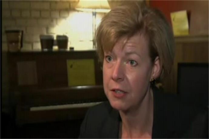 Web Extra_ U.S. Senator Tammy Baldwin visit Green Bay_8445020132258762367