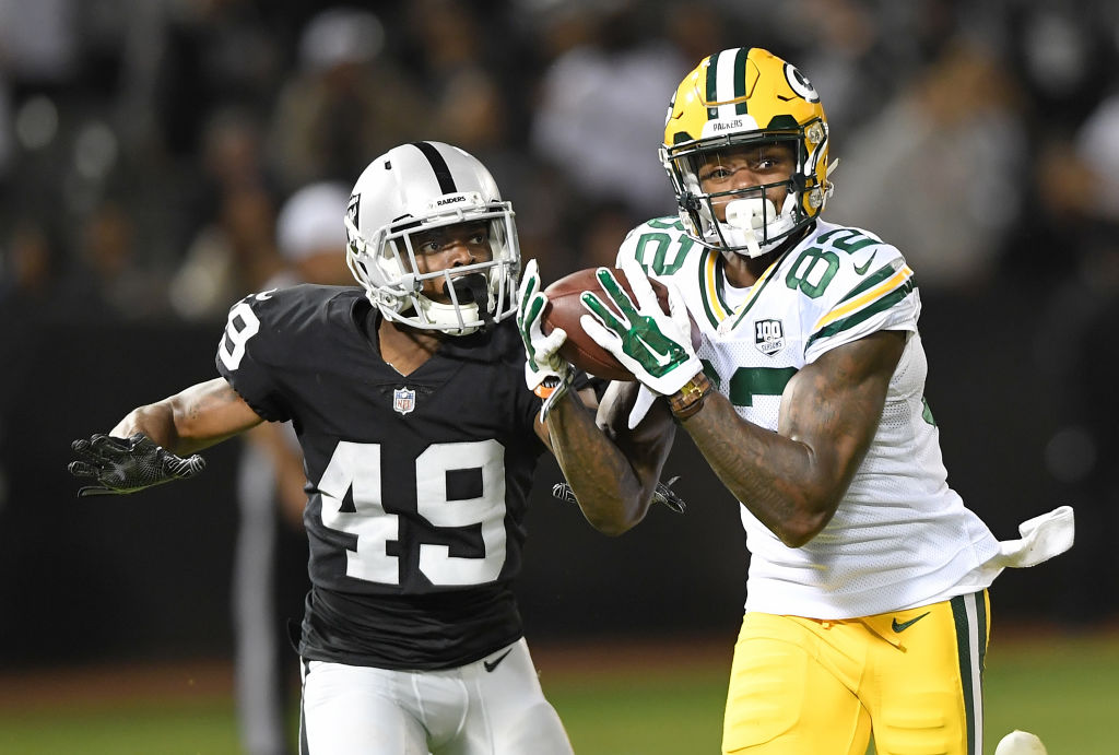 Packers J'Mon Moore vs Oakland