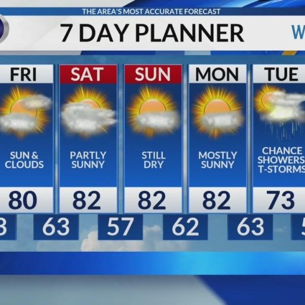 Thursday Video Forecast 9/13