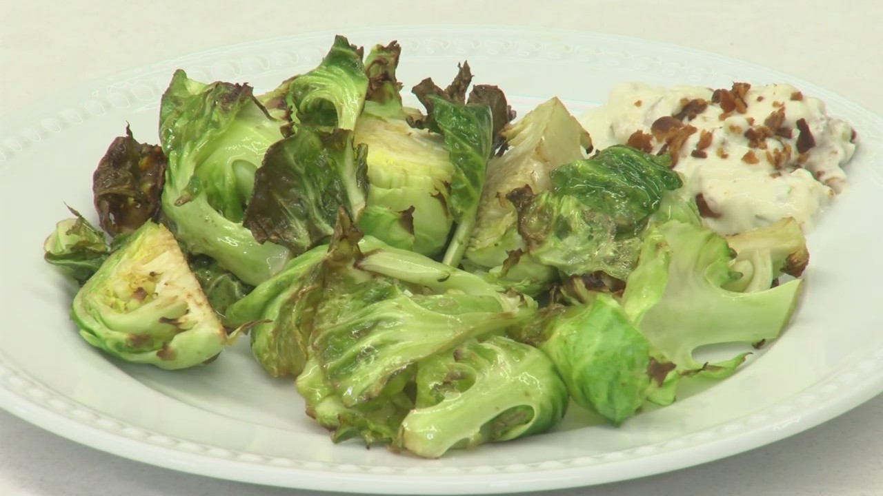Air-Fried Brussels Sprouts