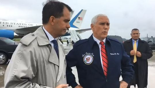 Pence and Walker