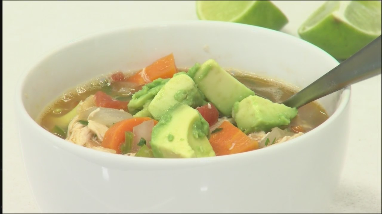Chicken-Poblano Tortilla Soup