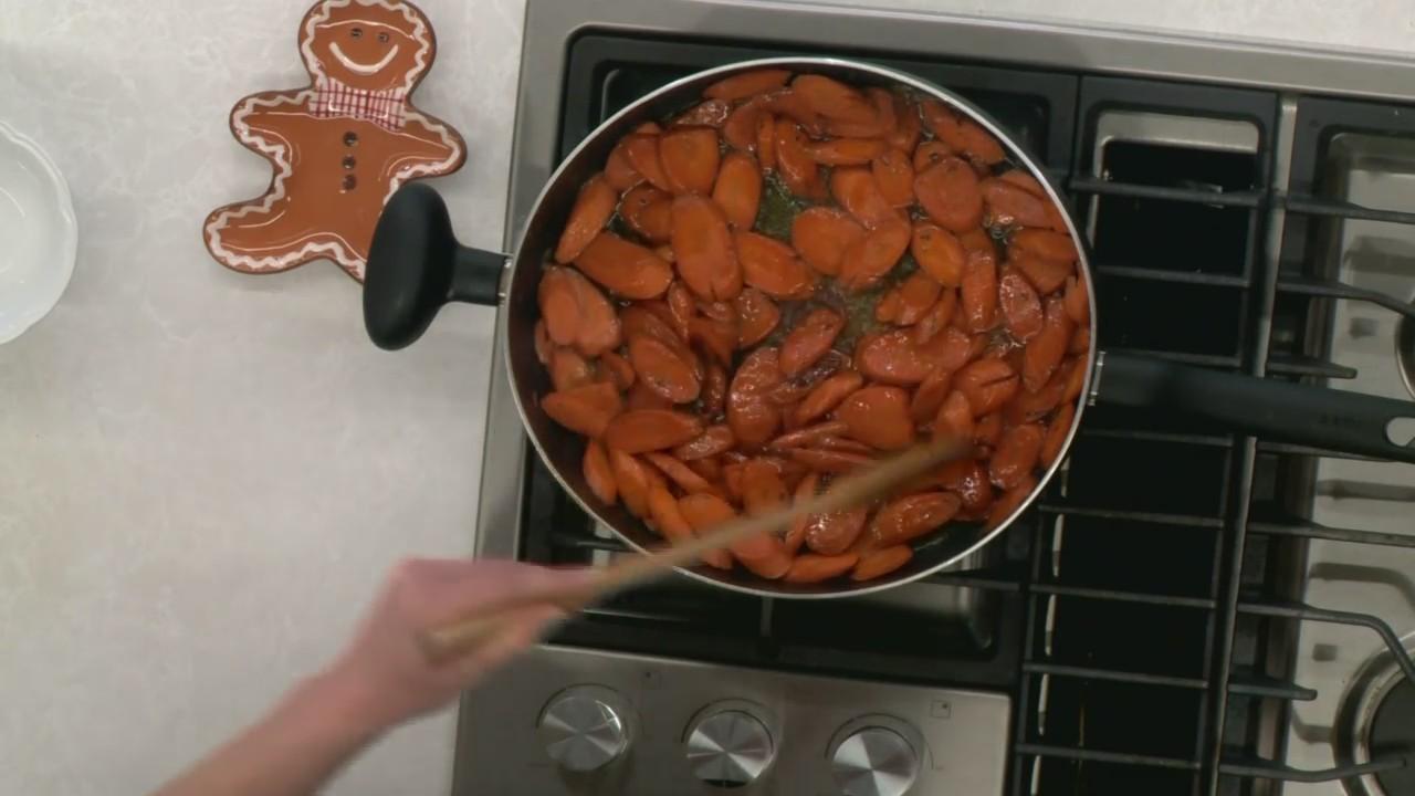 Bourbon Maple Carrots