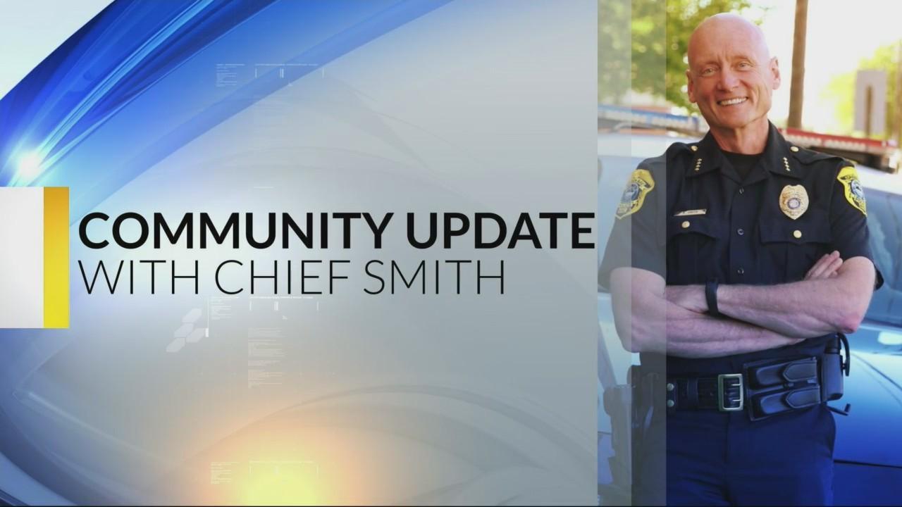 Chief Smith's Community Update: 11-1-18