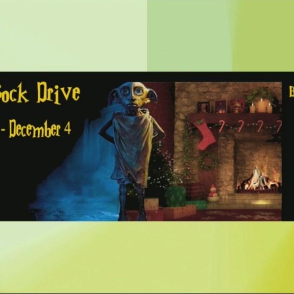 Gnome Games Holiday Sock Drive