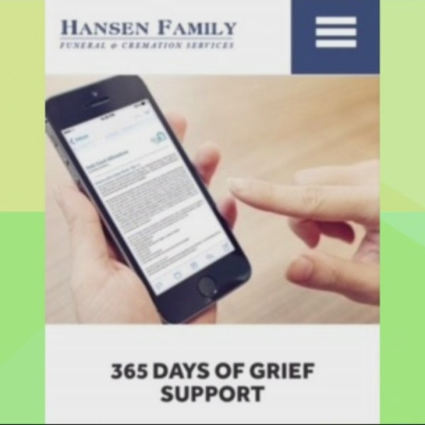 Hansen Family Funeral Service: Grief Support