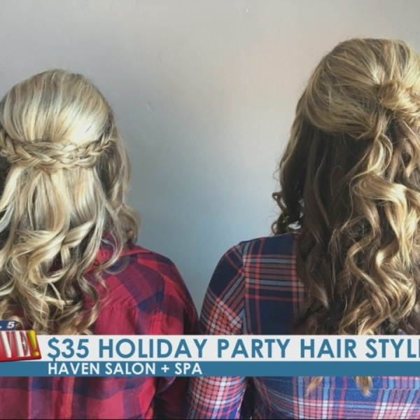 Holiday Hair Deals at Haven Salon and Spa