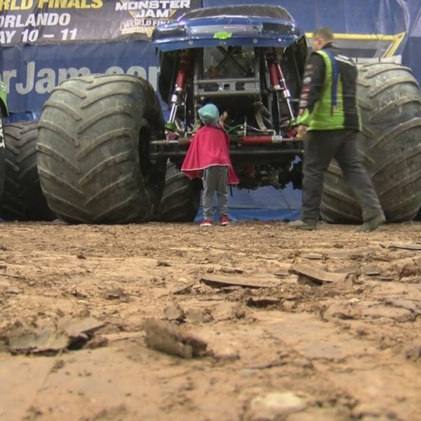 Monster Jam Helps Kids with Cancer