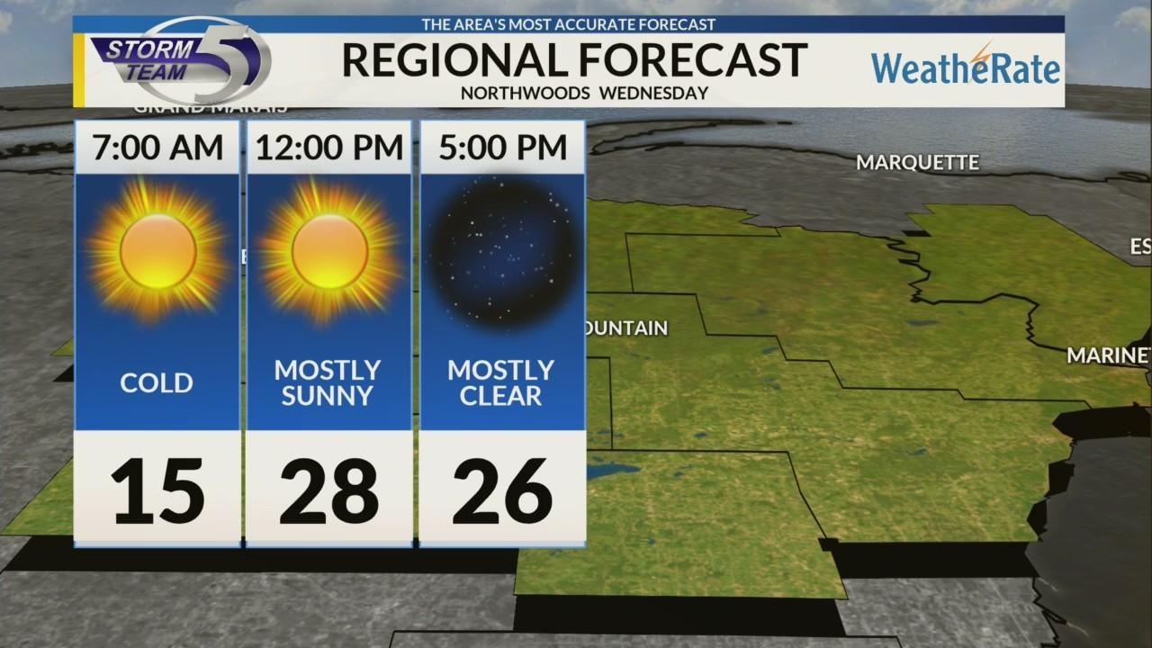 Regional Forecast: Northwoods 11-14