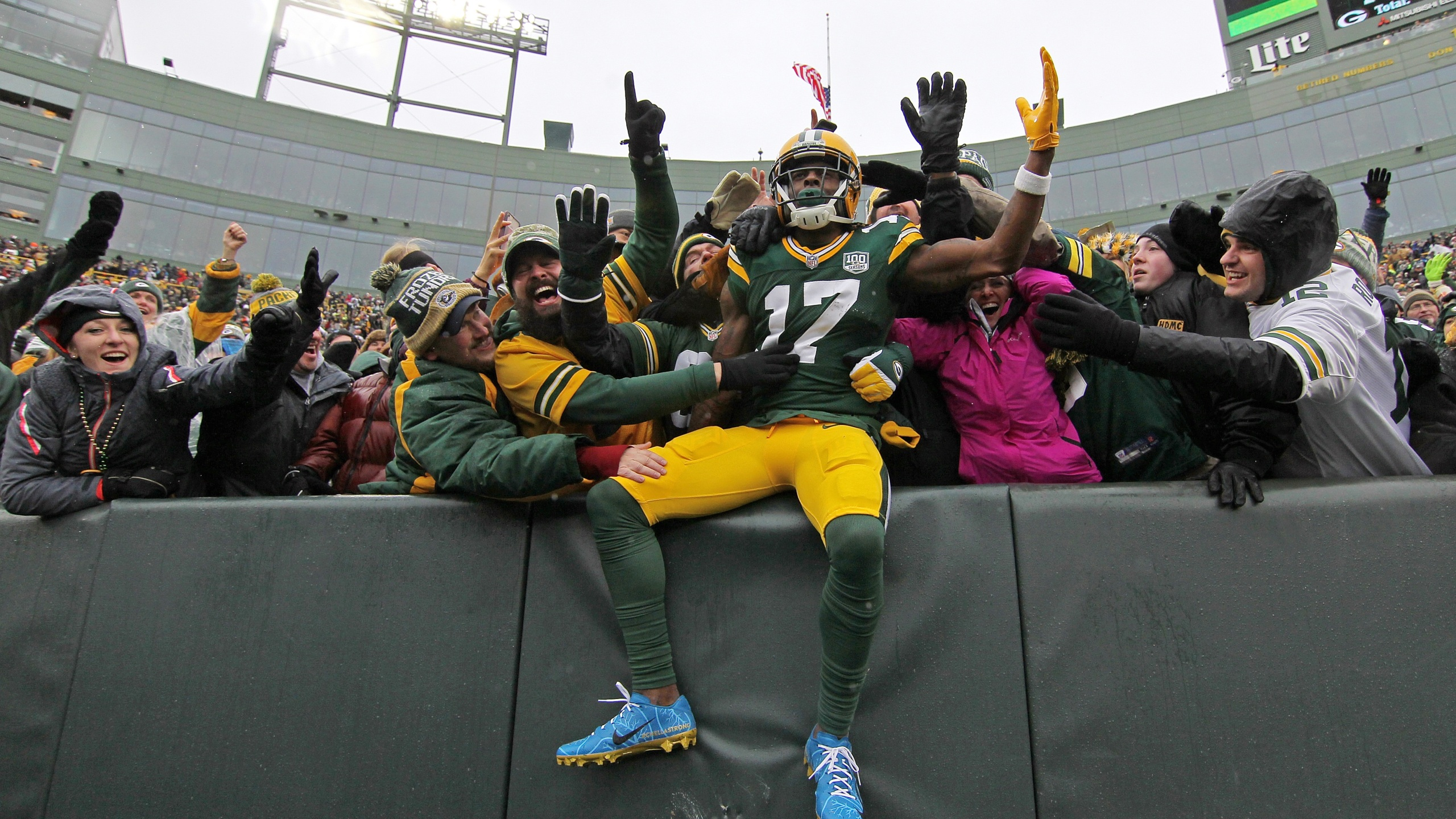 Packers Davante Adams Picked for Pro Bowl