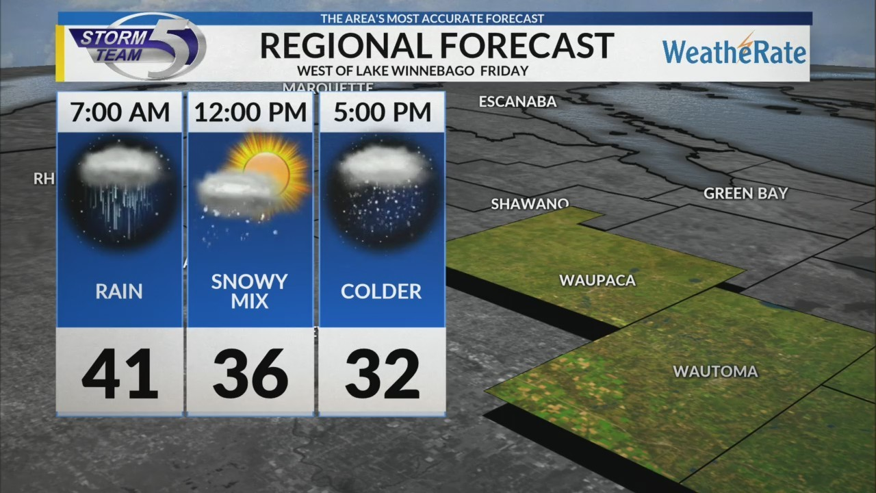 Regional Forecast: Central WI 12/28/2018